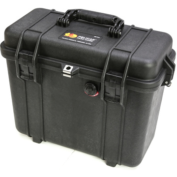 Pelican 1434 Top Loader Case with Photo Dividers (Black)