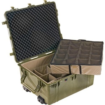 Pelican 1694 Case with Padded Dividers (Olive Drab Green)