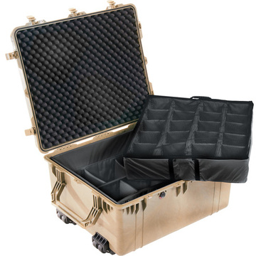 Pelican 1694 Case with Padded Dividers (Desert Tan)