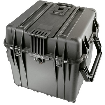 Pelican 0340 Cube Case without Foam (Black)