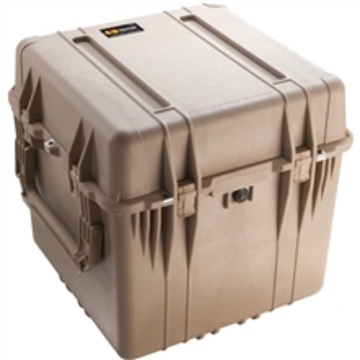 Pelican 0350 Cube Case with Padded Dividers (Desert Tan)