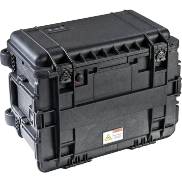 Pelican 0450 Mobile Tool Chest without Drawers (Black)