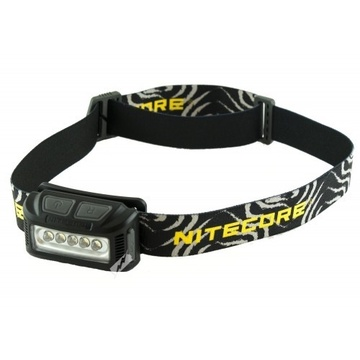 Nitecore NU10 CRI Headtorch with Black body and Strap