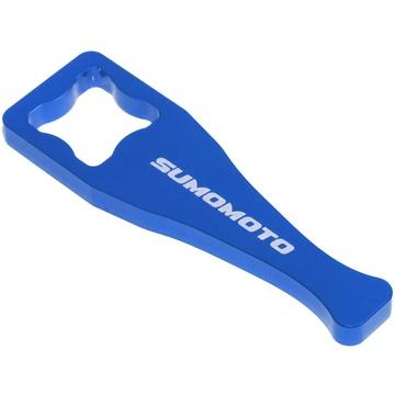 Aluminium GoPro Wrench universal for mounting knob (blue)