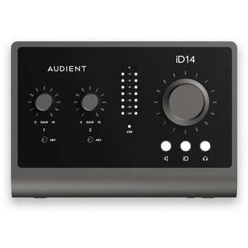 Audient iD14 MK2 10in 6out USB Interface
