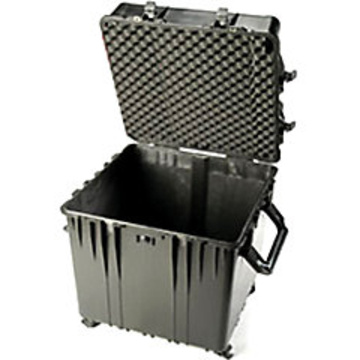 Pelican 0370 Cube Case without Foam (Black)