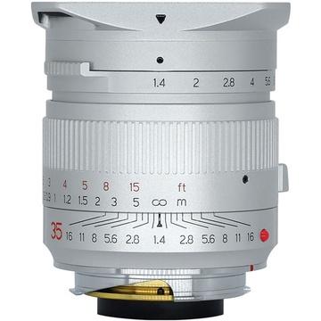 TTArtisan 35mm f/1.4 Lens for Leica M (Silver)