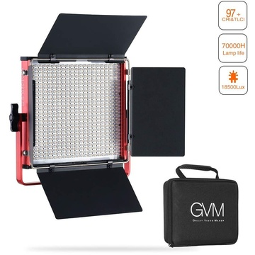 GVM 520LS-R Bi-Colour Video Light