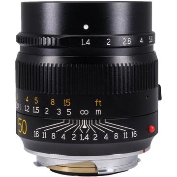 TTArtisan 50mm f/1.4 ASPH. Lens for Leica M