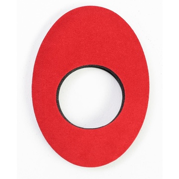 Bluestar Extra Large Oval Eyecushion - Microfiber (Red)