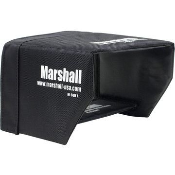 "Marshall Electronics Sun Hood for M-CT7 7"" Camera Monitor"