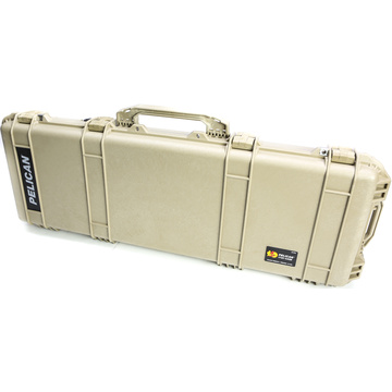 Pelican 1720 Long Case without Foam (Desert Tan)