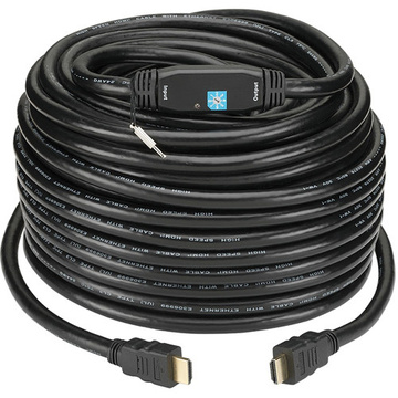 KanexPro High Resolution HDMI Cable With Built-in Signal Booster - 100ft (30.5m)