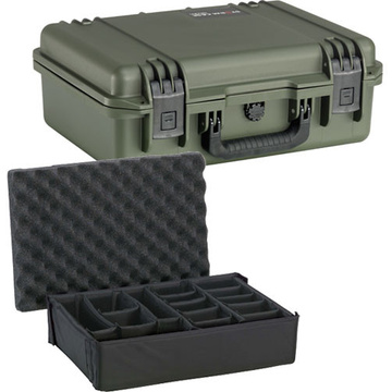 Pelican iM2300 Storm Case with Padded Dividers (Olive Drab Green)
