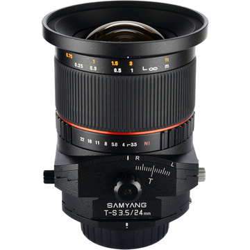 Samyang 24mm f/3.5 ED AS UMC Tilt-Shift Lens (Canon)
