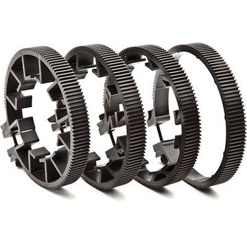Redrock Micro Lens Gear Kit (Black)