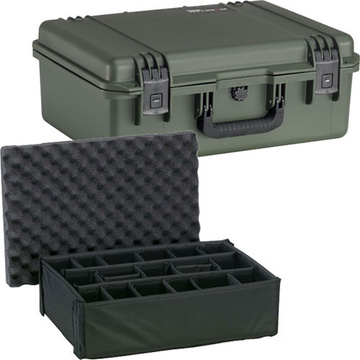 Pelican iM2600 Storm Case with Padded Dividers (Olive Drab Green)