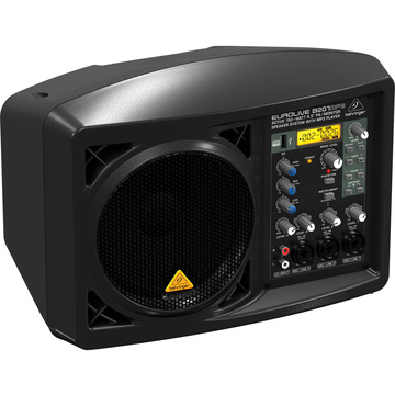 "Behringer EUROLIVE B207MP3 Active 150W 6.5"" PA/Monitor Speaker System with MP3 Player"