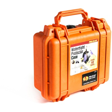 Pelican 1200 Case without Foam (Orange)