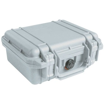 Pelican 1200 Case without Foam (Silver)