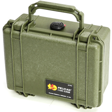 Pelican 1150 Case without Foam (Olive Drab Green)