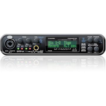 MOTU UltraLite-mk3 - Hybrid FireWire/USB 2.0 Audio & MIDI Interface