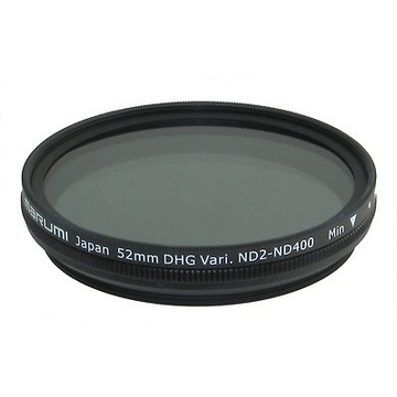 Marumi 52mm Variable ND2 - ND400 DHG filter