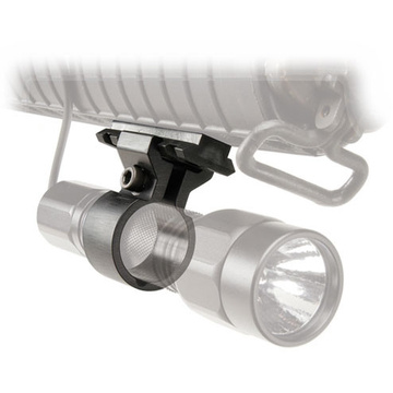 Pelican Picatinny Rail Foregrip Mount for Pelican M1, M3 and M6 Flashlights
