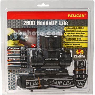 Pelican 2600 HeadsUp Lite