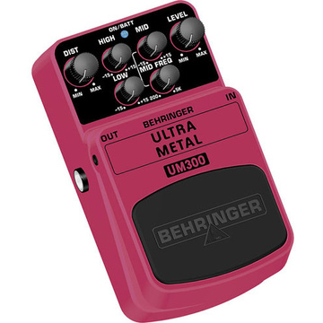 Behringer Ultra Metal UM300 Effects Pedal