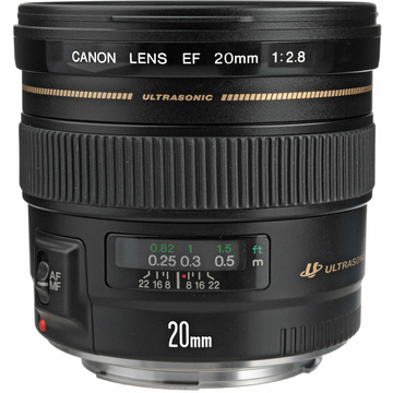 Canon EF 20mm f2.8 USM Wide Angle Lens
