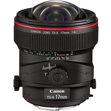Canon TS-E 17mm f4 L Tilt Shift Lens