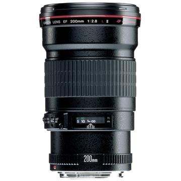 Canon EF 200mm f2.8L II USM Lens