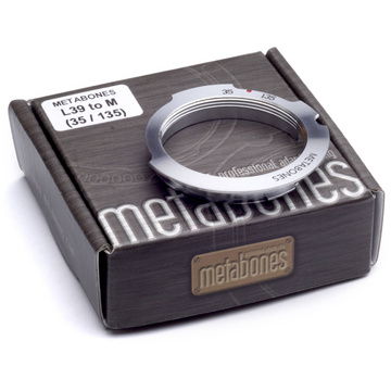Metabones L39 Mount 35-135mm Lens to Leica M Camera 6-Bit Lens Mount Adapter