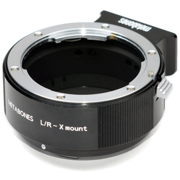 Metabones Leica R Mount Lens to Fujifilm X-Mount Camera Lens Mount Adapter (Black Matte)