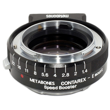 Metabones Contarex Lens to Sony NEX Camera Speed Booster