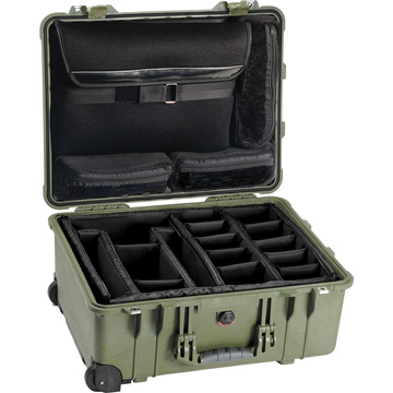Pelican 1560 Studio Case (Olive Drab Green)