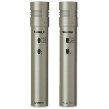 Shure KSM137 Cardioid Microphone Pair