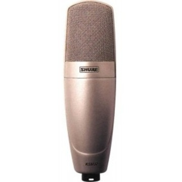 Shure KSM32 Studio Single Diaphragm Champagne