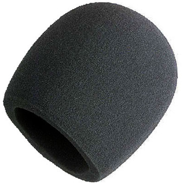 Shure A58WS-BLK  Foam Black Windscreen for Ball Type Microphones