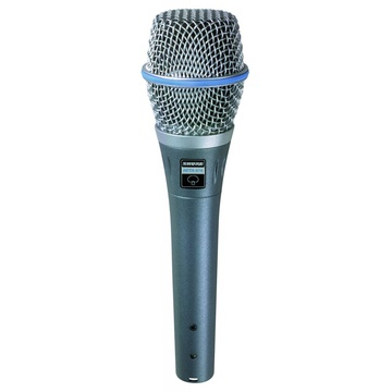 Shure BETA87A Vocal Condenser Microphone