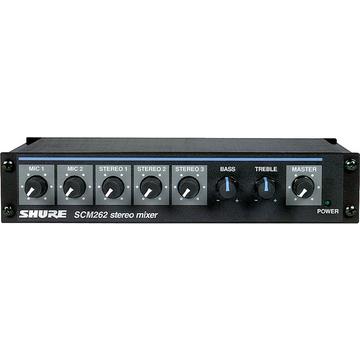 Shure SCM262 Stereo Mixer