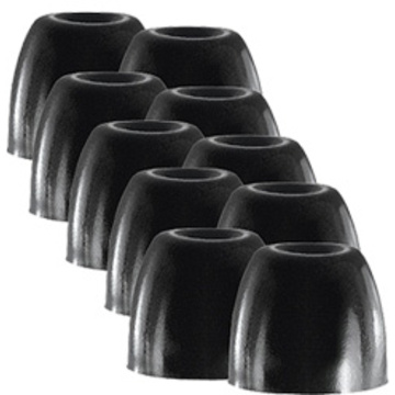 Shure Black Foam Sleeves - 10 Medium