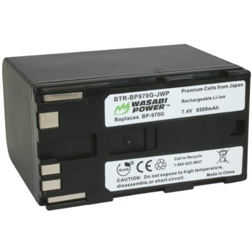 Wasabi Power Battery for Canon BP-970G