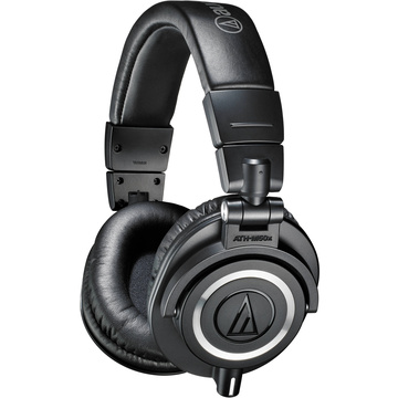 Audio Technica ATH-M50X Headphones (Black)