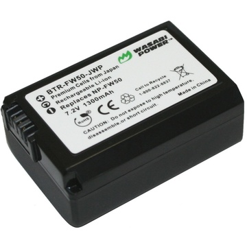 Wasabi Power Battery - Sony NP-FW50  type