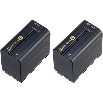 Sony NP-F970 L-Series Battery 2 Pack