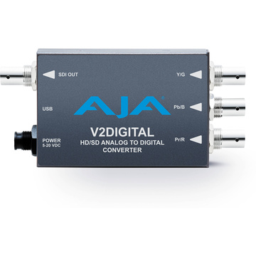 AJA V2Digital Analogue to HD/SD-SDI Mini-Converter