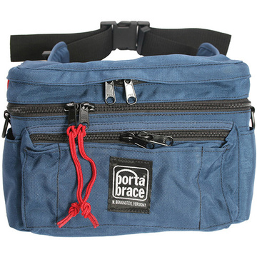 Porta Brace HIP-4 Hip Pack for Mini DV Camcorder Kits (X-Large, Signature Blue)