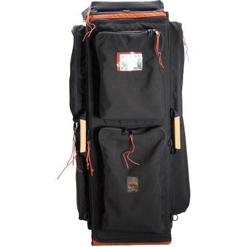 Porta Brace WPC-3OR Wheeled Production Case (Large, Midnight Black)